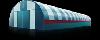 Каркасно-тентовые ангары