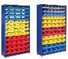 Прочие стройматериалы объявление но. 3895: Стелажи с пластиковыми ящиками для хранения метизов, крепежа, мелких деталей