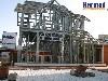 Бани, Здания и сооружения, Ангары, ЛСТК объявление но. 4189: Каркасные дома быстровозводимые