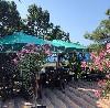 С приходом весны появляются открытые площадки рядом с кафе, бистро и ресторанами, они превращаются в открытые веранды. Здесь необходимо установить уличные зонты. Летом посетителей предпочитают сидеть  ...